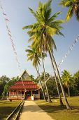 Temple On The Island Of Don Khon