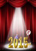 New Year 2015 in spotlight