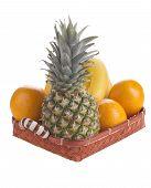 Fruit in a basket