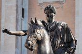 Statue Of Marco Aurelio, Rome, Italy