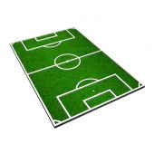 3d model of a soccer pitch