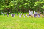 Mennonites Cemetery In Kitchener, Ontario