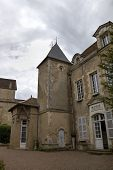 Mairie of city near Basilique  of St. Mary Magdalene in Vezelay Abbey. Burgundy, France