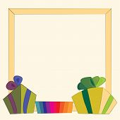 Gifts And Frame