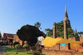 Buddha statue at Wat Yai Chaimongkol