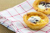 Delicious Egg Tarts Sweet Custard