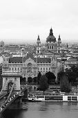 Budapest Chain Bridge and St. Stephen's Basilica