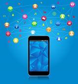 Social network on Smart Phone