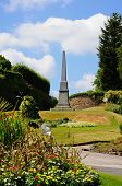 Afghan Memorial Obelisk, Nottingham.