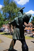 Robin Hood statue, Nottingham.