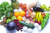 Tasty Fruits And Vegetables.