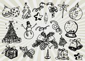 Set 2 of Christmas Icons