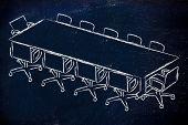 Meeting Room Or Board Room Design