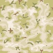pic of camo  - Illustration of a grunge and seamless military camouflage with green and brown shades for army background and camo fight clothes wallpapers - JPG