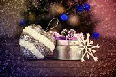 stock photo of keepsake  - Christmas still life - JPG