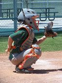 Baseball catcher