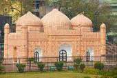 Historical Lalbagh Fort mosque in Dhaka, Bangladesh.