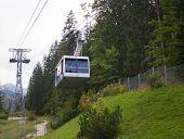 Cableway In Kasprowy Wierch Peak In Tatra Mountains