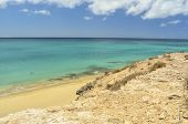 Atlantic Ocean In Fuerteventura, Canary Islands