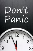 Don't Panic about Time