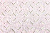 Pink Crochet Cloth Texture Background