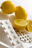 Lemons And Flu Pills - Grippe Remedy