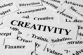 Creativity And Other Related Words