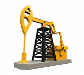 Oil Pump Isolated