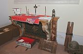 Old Altar And American Chaplain Set
