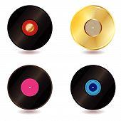 Vinyl lp vintage discs