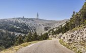 Road To Mont Ventoux