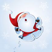 Santa Claus - Snow angel