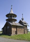 Kizhi, Russia. The Chapel Of The Archangel Michael 17Th-18Th Century.
