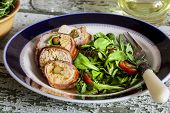 picture of chickpea  - chicken roulade with bacon - JPG