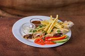 image of shawarma  - Eastern food - JPG