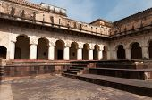 stock photo of india gate  - Raj Mahal palace in Orchha - JPG