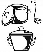 picture of saucepan  - Cookware - JPG