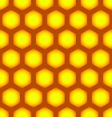 picture of hexagon pattern  - Eps 10 vector illustration of Honeycomb repeatable pattern Seamless Hexagonal pattern - JPG