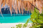foto of phi phi  - the beautiful andaman sea seen from phi phi island thailand - JPG