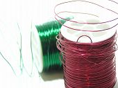 Color Coil Wire Pair
