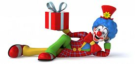 foto of clowns  - Fun clown - JPG