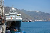 Vessel At Harbor