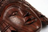 A Balinese Wooden Craft Of Sita