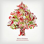 picture of christmas  - Christmas tree - JPG