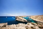 Comino and Gozo island in malta