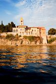 Medieval fortified town on the ocean, Rab, Croatia