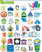 COLLECTION_5 Exclusive Series of House vector Icons for Web and Construction or Real Estate concept