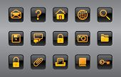 Vector icons website and Internet icons Easy to edit, manipulate, resize or colorize