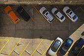 Urban Parking Lot