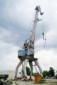 harbour crane working